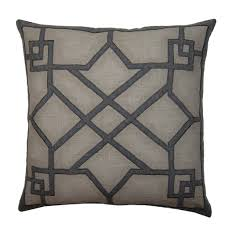 Stanton Home Furnishings by Deco Garrick Pillow Cement U2013 Stanton Home Furnishings