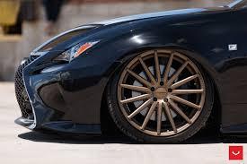 bagged lexus rc lexus rc 350 f sport on vossen vfs 2 vossen wheels