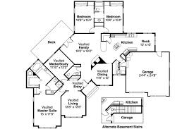 ranch floor plans with walkout basement bedroom ranch house plans sq ft rancher walkout basement floor