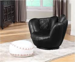 Swivel Chair And Ottoman Baseball Swivel Chair W Ottoman Free Shipping Today Overstock