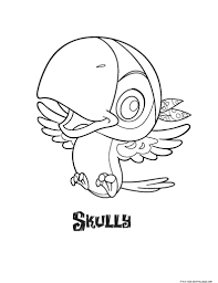 jake and the never land pirates skully coloring pages free