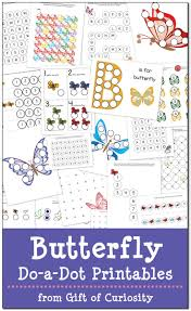 butterfly do a dot printables free gift of curiosity
