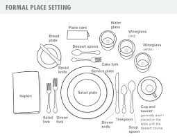 how to set a table with silverware proper table setting cute formal silverware placement best