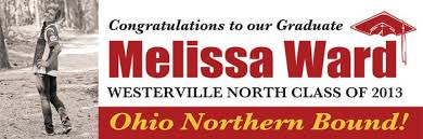graduation signs graduation banners westerville signs banners columbus ohio