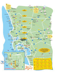 San Diego Safari Park Map by Map Of San Diego World Map