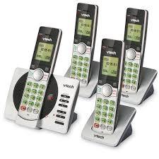 cs6929 4 vtech cordless phones