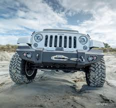 jeep bumper fab fours jeep wrangler jk lifestyle front winch bumper review