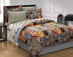 Surfing Bedding Sets 6pc Surfing Bedding Set Surfboards Comforter Set Bed