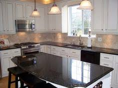 Oak Kitchen Cabinets Painted White Granite With Oak What Color Light Or Dark Kitchens Forum