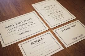wedding stationery sets 1920s deco wedding stationery set printable set of 4 on
