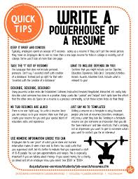 Action Words For Resume Resume by Powerful Resume Tips Easy Fixes To Improve And Update Your Resume