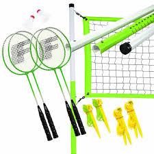 amazon com franklin sports intermediate 4 player badminton set