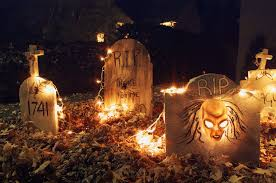 5 scary ways to light up your yard for halloween