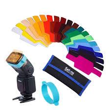 amazon com selens universal flash gels lighting filter se cg20