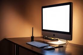 imac bureau free images desk apple table workspace office speaker room