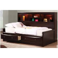 white twin bed with storage headboard bed frame with storage