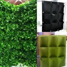 wall ideas wall hanging planters india 4 8 16 pockets indoor
