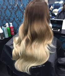 glamorous hair extensions hair extension heaven the ombre by lengths