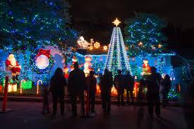 christmas light show los angeles sherman oaks los angeles curbed la