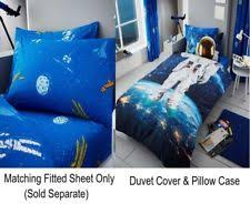 Space Single Duvet Cover Space Bedroom Home Furniture U0026 Diy Ebay