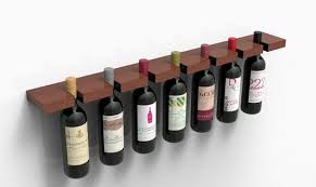precarious pinching wine racks ac bottle holder