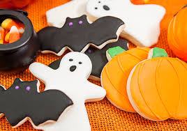 Halloween Pumpkin Sugar Cookies - lighter halloween sugar cookies