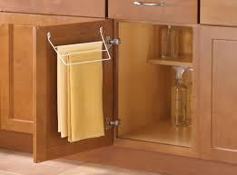 over cabinet door towel bar door mount towel bar kv knape vogt brilliant kitchen in 2