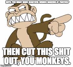 Angry Guy Meme - angry monkey family guy imgflip