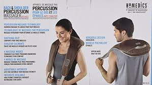 si e de homedics homedics back shoulder percussion massager 7 pound amazon ca
