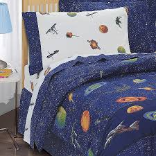 Space Bed Set 3d Galaxy Comforter Bedding Sets Size Universe Outer Space