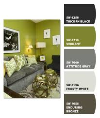 Green And Gray Bedroom by A Slice Of Lime The Ace Of Space Blog
