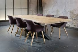 D Coratif Table A Manger Engageant Table Chene Pied Metal Plateau Noir Beraue Agmc Dz