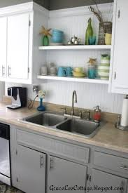 Updating Old Kitchen Cabinet Ideas by Grace Lee Cottage Updating Old Kitchen Cabinets