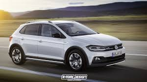 2018 vw cross polo rendered
