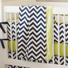 Navy And Yellow Bedding Navy And Citron Zig Zag Crib Bedding Carousel Designs