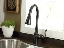 Touchless Kitchen Faucet Menards Faucet by Oil Rubbed Bronze Kitchen Faucet Reviews Delta Touchless Moen