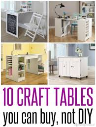 large square craft table craft tables you can buy instead of diy square feet craft and studio