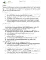 Best Font For Electronic Resume by Resume Bullets Resume For Your Job Application