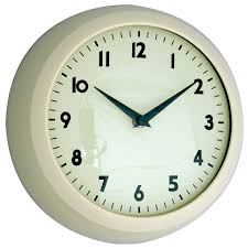designer kitchen clocks endearing second hand 19cm or 35cm ede plus station wall clock to