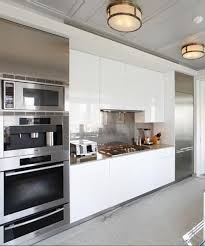kitchens with stainless steel backsplash stainless steel in kitchens