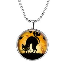 luminous halloween necklace u2013 sparkle delights
