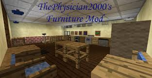 Minecraft Decoration Mod Wip Updated 2015 7 28 Thephysician2000 U0027s Furniture Mod Comming