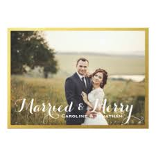 married christmas cards just married photo invitations announcements zazzle