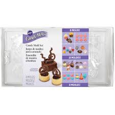 Chocolate Molds Baby Shower Wilton Candy Mold Set Party Pack