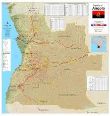 Angola Map Index
