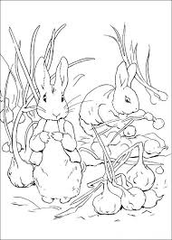 Kids N Fun Com 29 Coloring Pages Of Peter Rabbit Rabbit Colouring Page