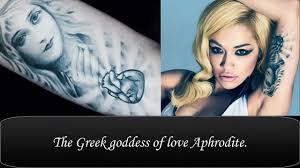 rita ora u0027s tattoos u0026 their meanings youtube