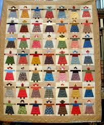 moose bay muses paper doll quilt finished
