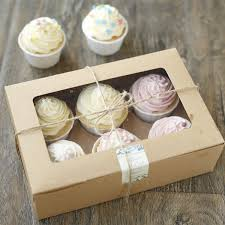 where to buy a cake box 6 pcs cupcake cardboard paper box with handle gift cake packaging