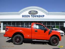 Ford F150 Truck 2012 - 2012 ford f150 stx regular cab 4x4 in race red b70447 truck n